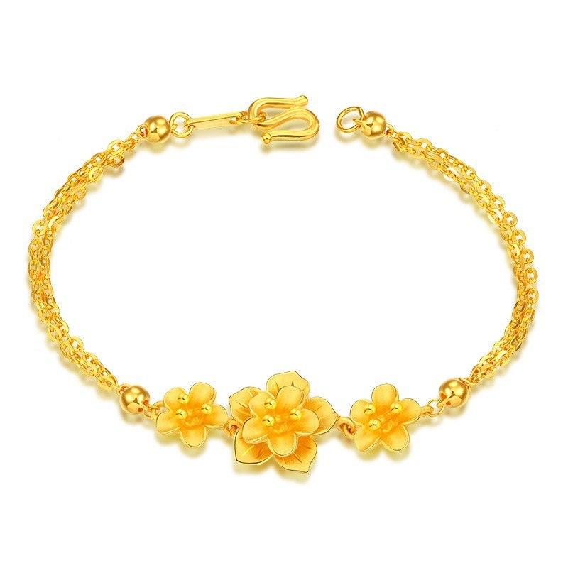 一般一条黄金手链有多重?