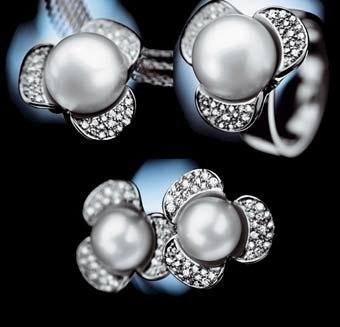 珠宝百科 有机宝石 优雅动人的珍珠钻石首饰怎么样?