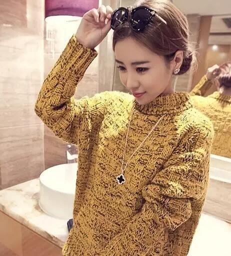 毛衣链如何搭配秋冬装
