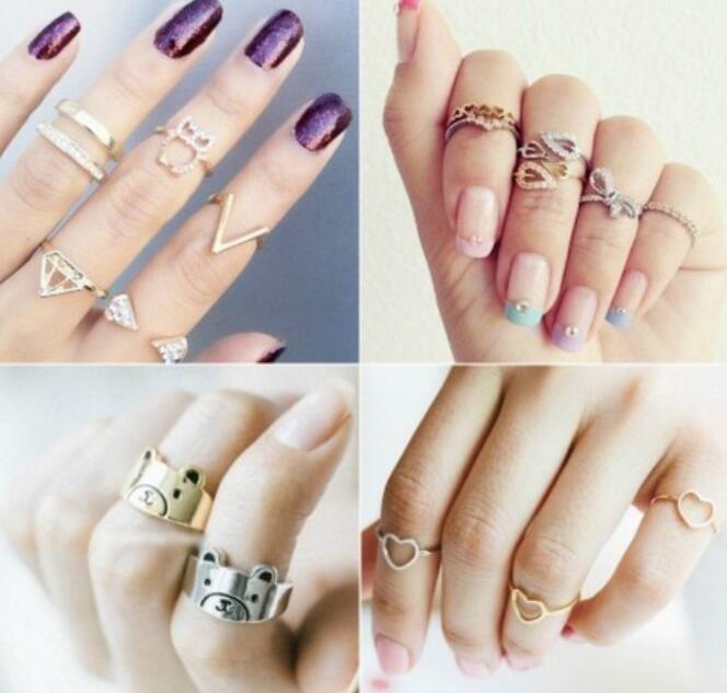 指节戒指怎么戴