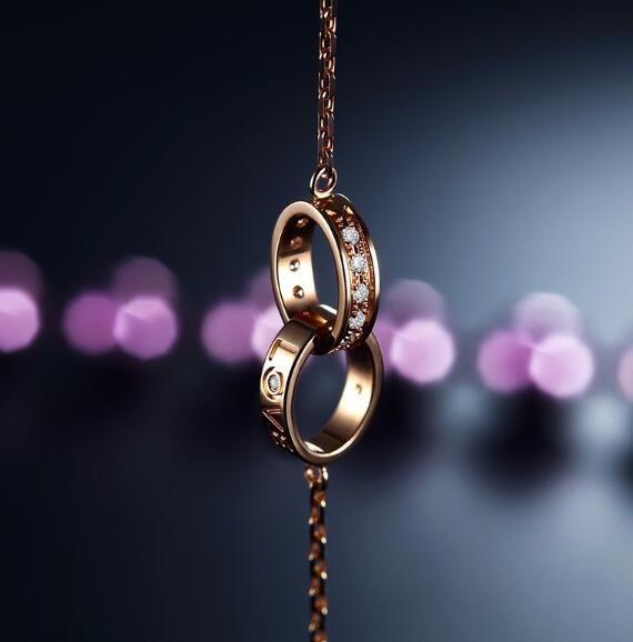K金钻石手链保养