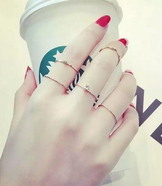 指节戒的戴法