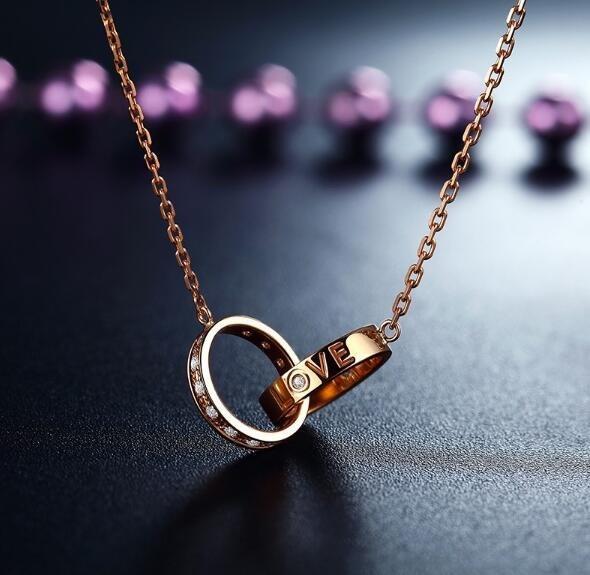 如何挑选18K黄金钻石项链