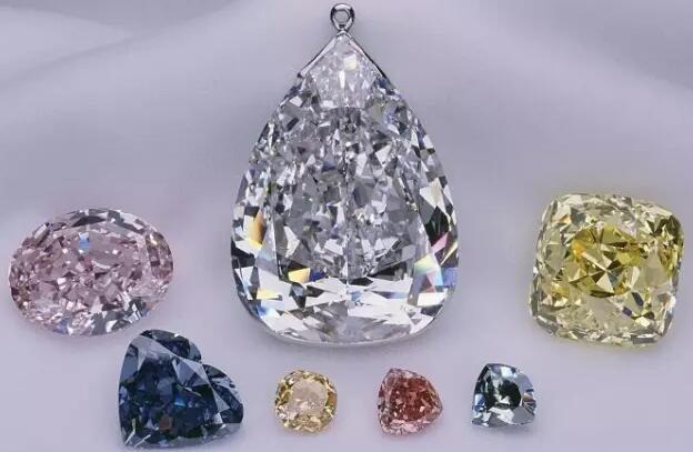 十个世界级别的大钻石