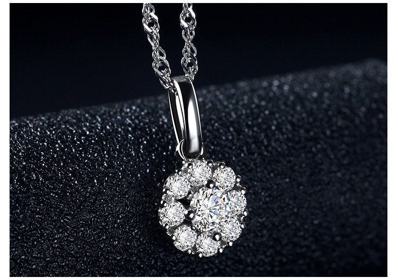 吊坠 星空-钻石吊坠   品类:吊坠c010202 材质:18k白 物料号:9007153