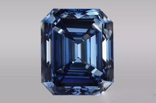 10.08克拉蓝色钻石