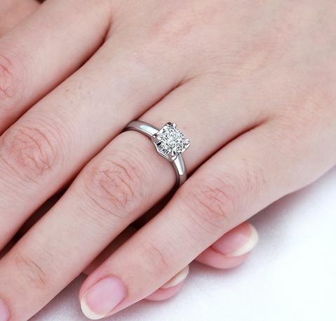 光棍节求婚戒指