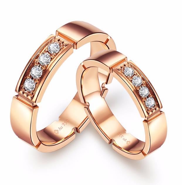 情侣戒指的戴法