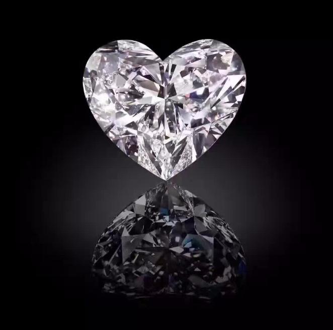 世界上最大的心形钻石