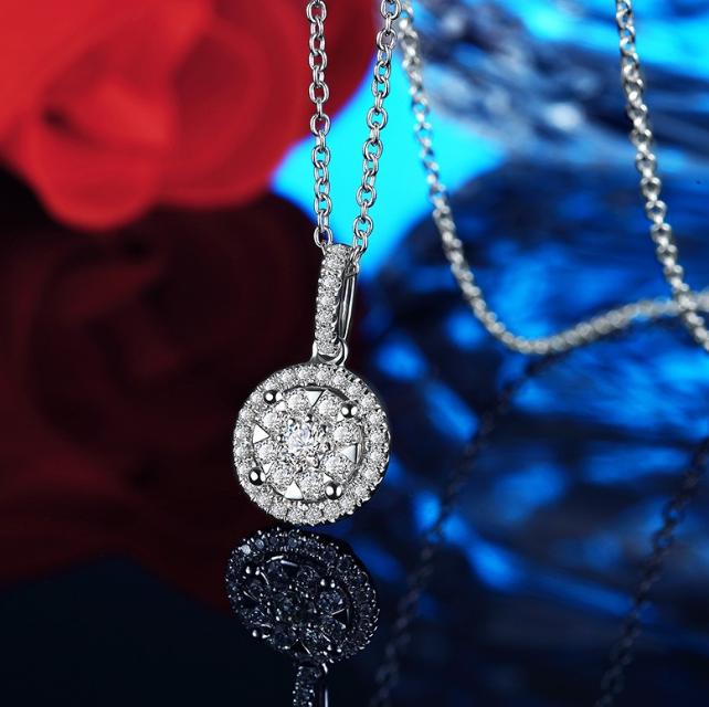 铂金钻石项链多少钱