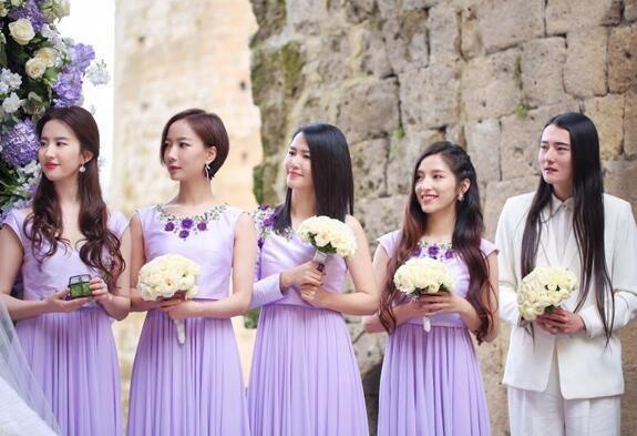 张靓颖的意大利婚礼