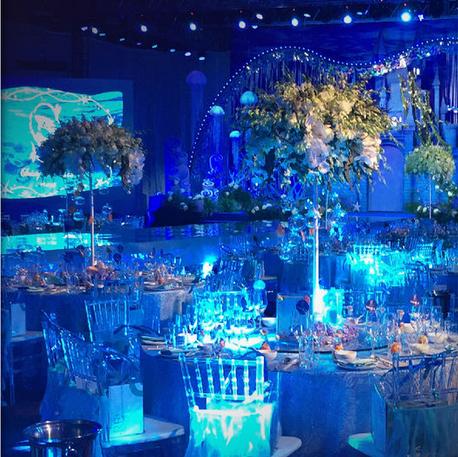 海洋主题婚礼布置