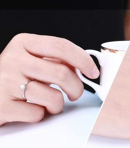 100000元能买多大的钻戒
