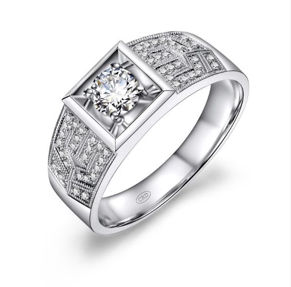未婚男士戴戒指的方法