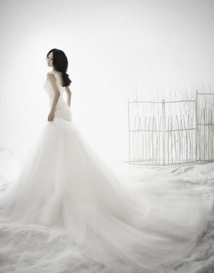 怎么拍婚纱照显瘦