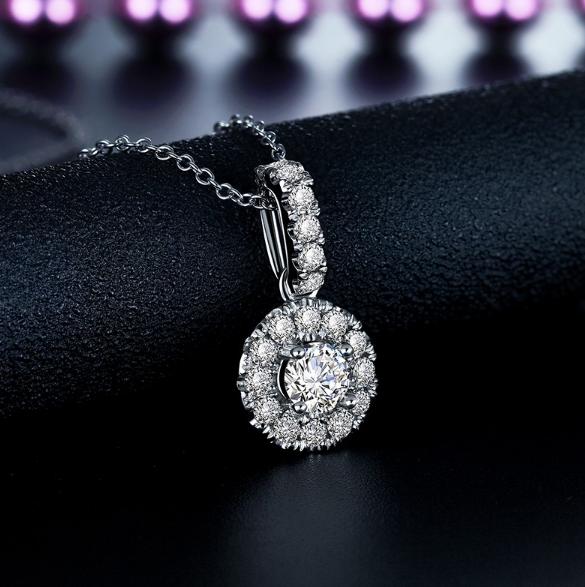 钻石吊坠多少钱
