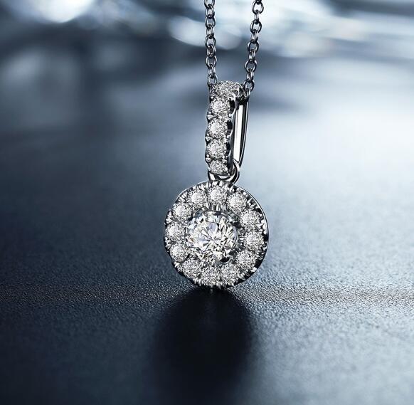 铂金钻石项链价格