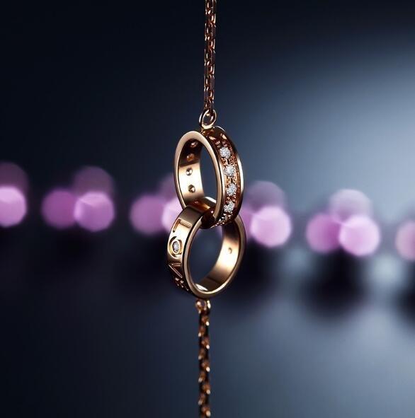 钻石手链款式