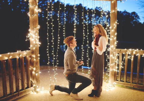 最感人的求婚告白