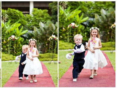 婚礼花童做些什么