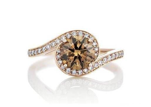 1克拉浅褐色钻石价格多少钱