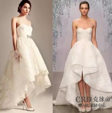 个子矮腿粗如何挑选婚纱礼服