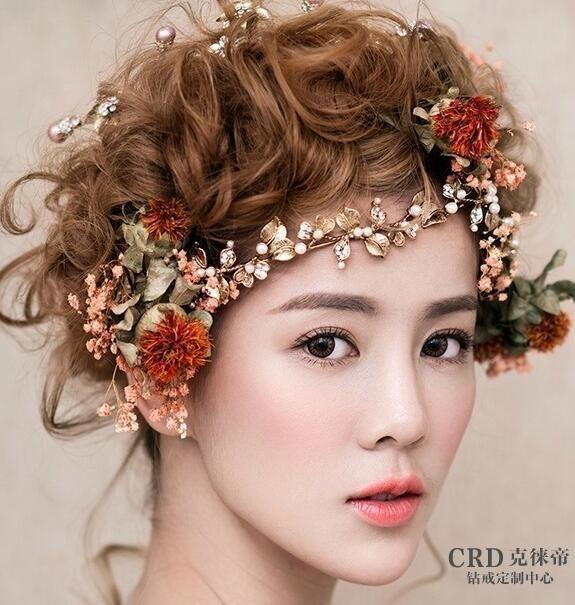 新娘发型怎么选