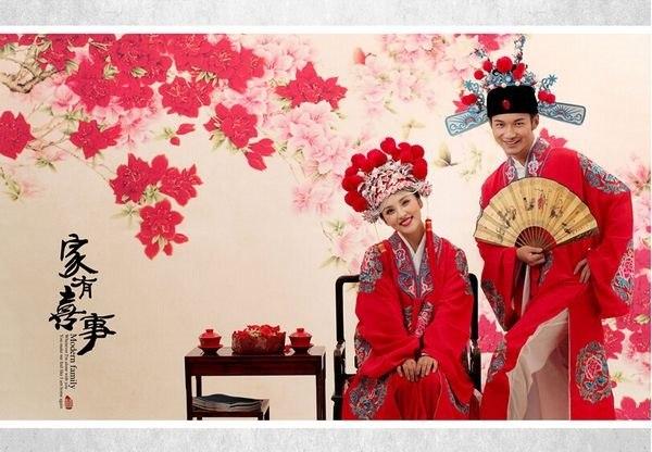 2017流行婚纱照风格大盘点图片