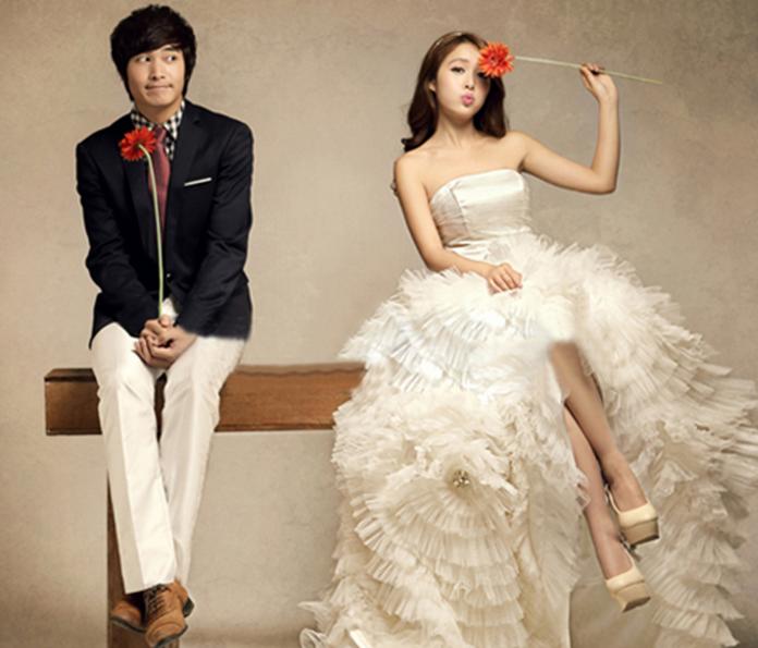 婚纱照拍摄的衣服风格有哪些