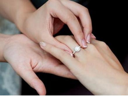 求婚戒指戴哪个手指