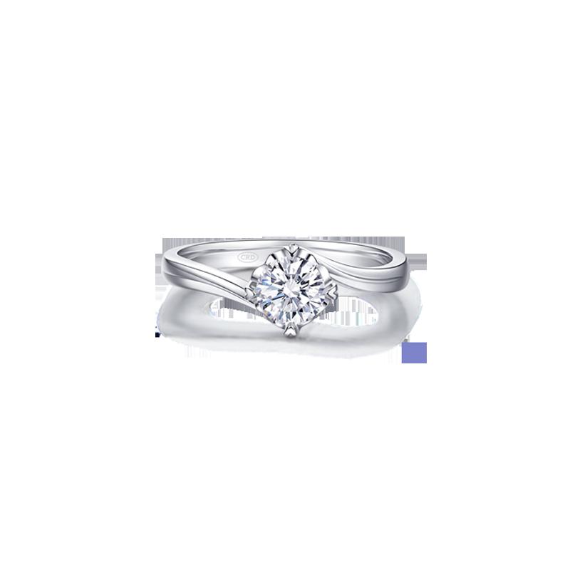 CRD花嫁系列-相擁 鉑金鉆石戒指