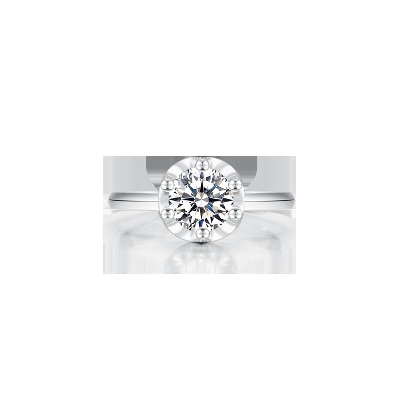 唯一 鉑金鉆石戒指
