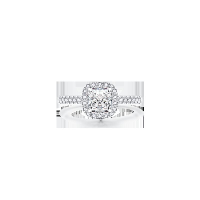 Allure傾城 鉑金鉆石戒指