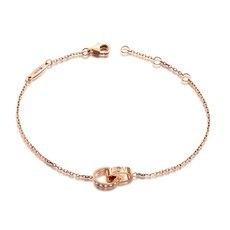 克徕帝—18K金钻石手链