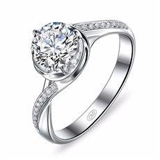 善爱-18K金钻石女戒指
