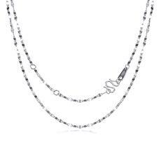 瓦片链-PT950铂金项链
