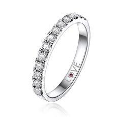 星语 18K金钻石戒指