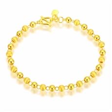 【新品】-黃金手鏈HJSL166