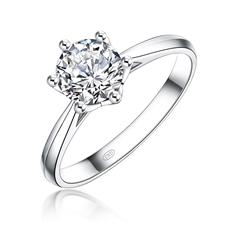 傳承 18K金鉆石戒指