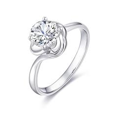 花蕊 18K金鉆石戒指