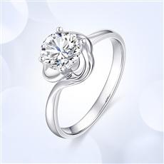 花蕊—18K金钻石戒指