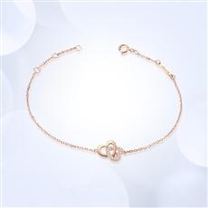 爱的吸引 18K金钻石手链
