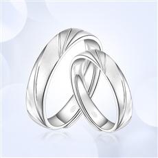 鉑金戒指 BJJZ180