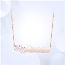 18K金项链 KJXL323