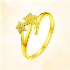 新品-黄金戒指HJJZ1146