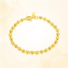 【新品】-黄金手链HJSL166