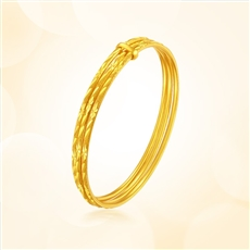 金三环-黄金手镯