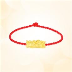 貔貅-黄金吊坠【3D硬金、一口价】