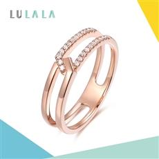 LULALA系列-約定 18K金鉆石女戒