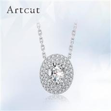 Artcut铂钻系列-Concinnity优雅钻石吊坠